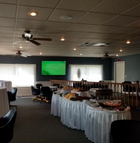 Shot of a banquet space at Elkhorn Valley Golf Club